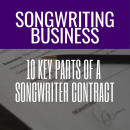 10 Key Parts Of A Songwriter Contract