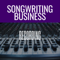 Recording Your Songs