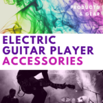 electric guitar player accessories
