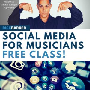 social media for musicians free
