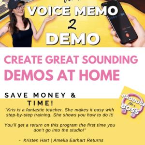 Voice Memo 2 Demo class